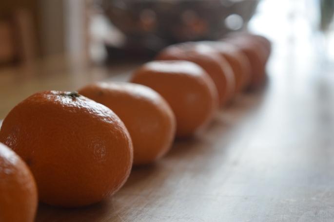 Mandarin Orange Row
